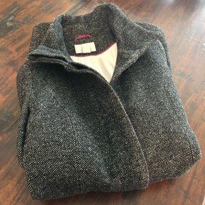 Ladies' H&M Wool Blend Button Front Coat, US 12